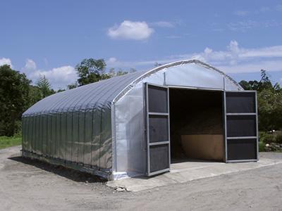 牧草貯蔵ハウス